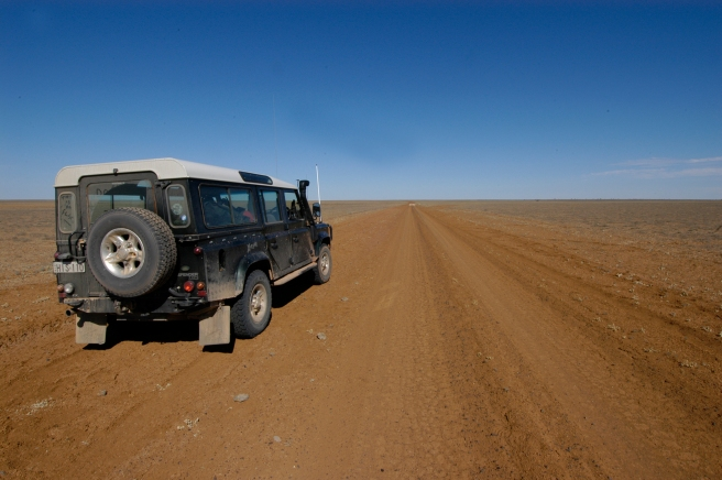 A LONG AND DUSTY ROAD IN FAR WEST QUEENSLAND