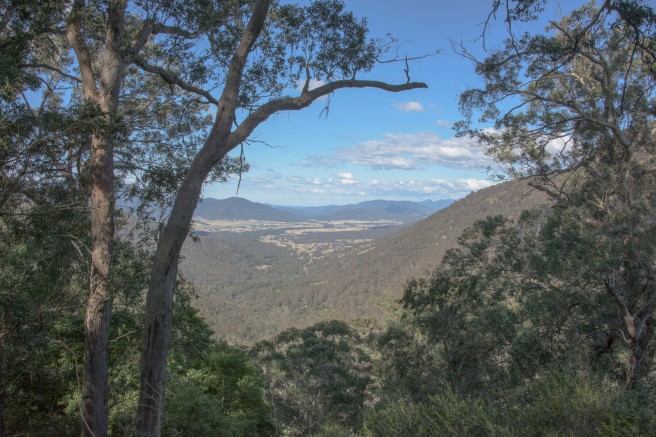 THE PANORAMIC VIEW FROM CLARKE'S LOOKOUT