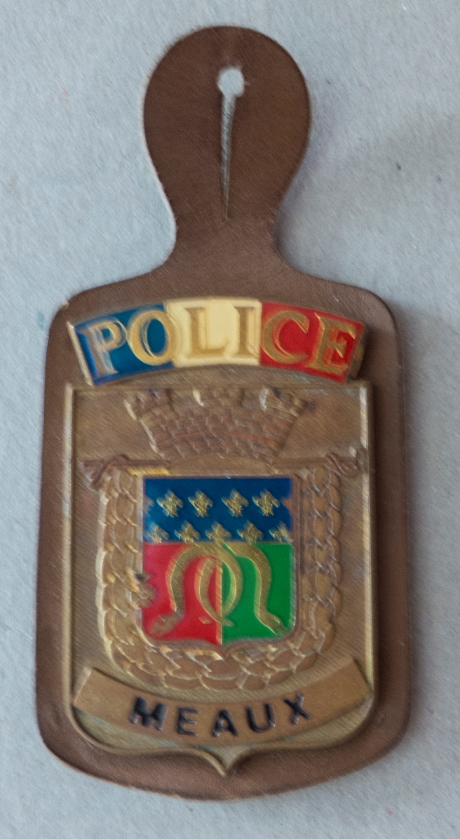 THE INSIGNIA OF THE POLICE FROM MEAUX