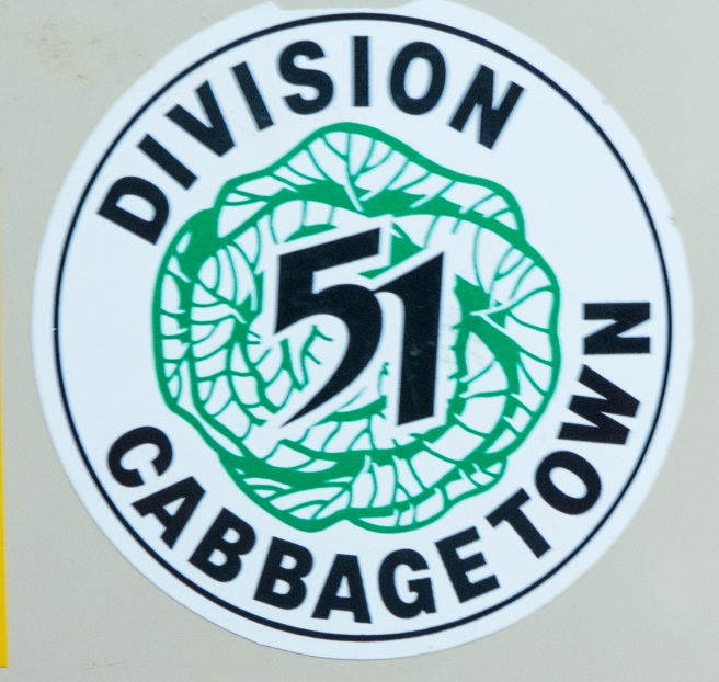 CABBAGE TOWN POLICE INSIGNIA