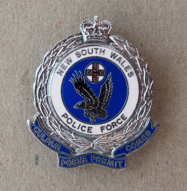 THE NEW SOUTH WALES POLICE INSIGNIA.