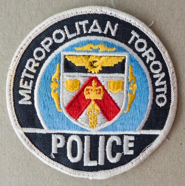 TORONTO POLICE INSIGNIA
