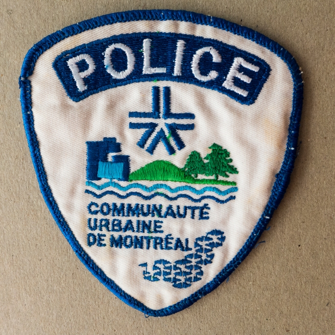 MONTREAL POLICE INSIGNIA
