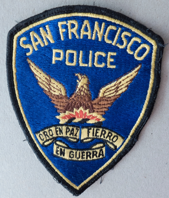 SAN FRANCISCO POLICE INSIGNIA