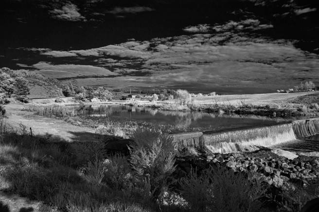 THE WEIR IN INFRA RED copy 2